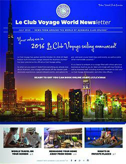July 2015 newsletter cover