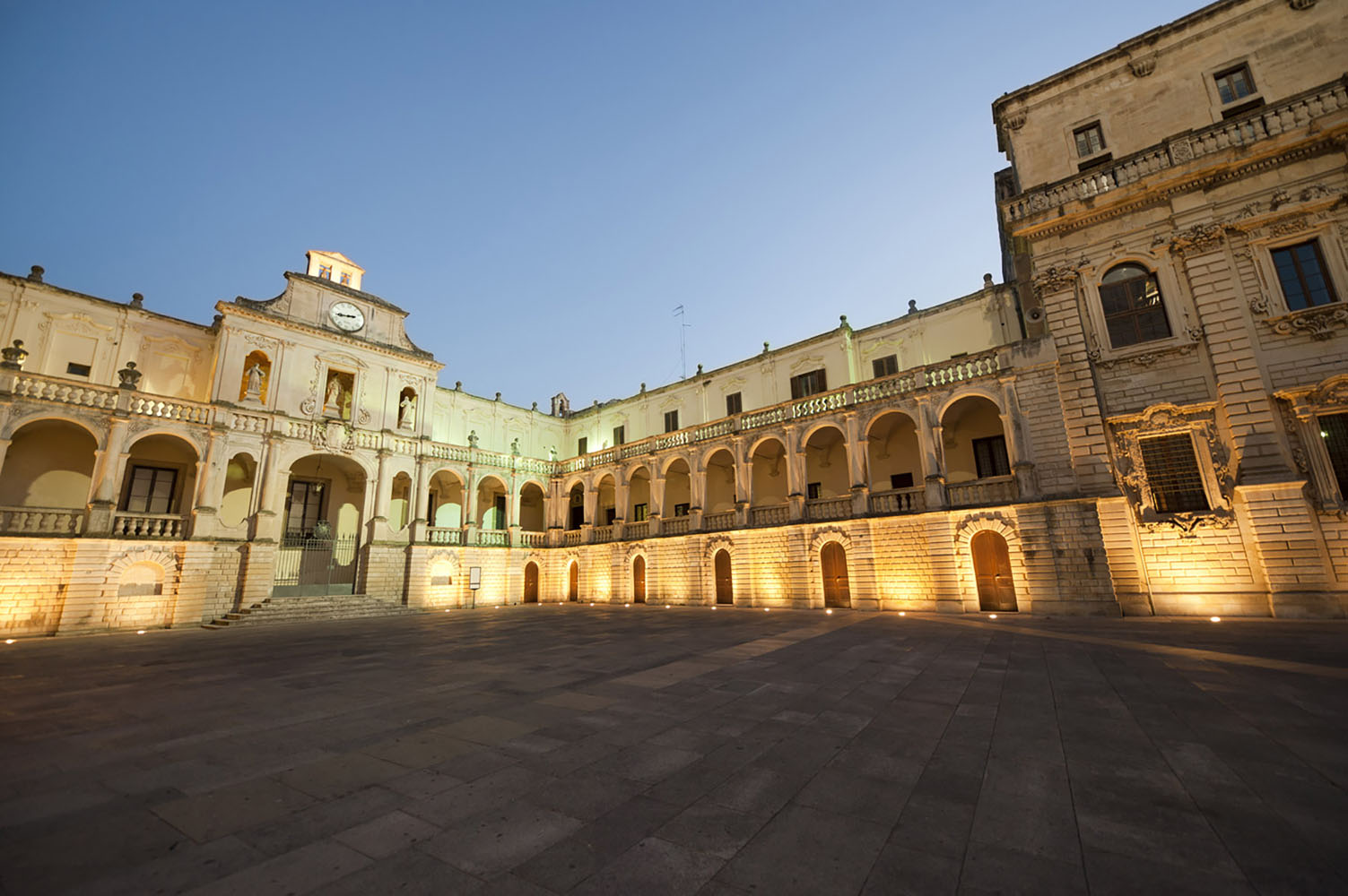 Pay a visit to the town of Lecce, a highlight of the Puglia region.