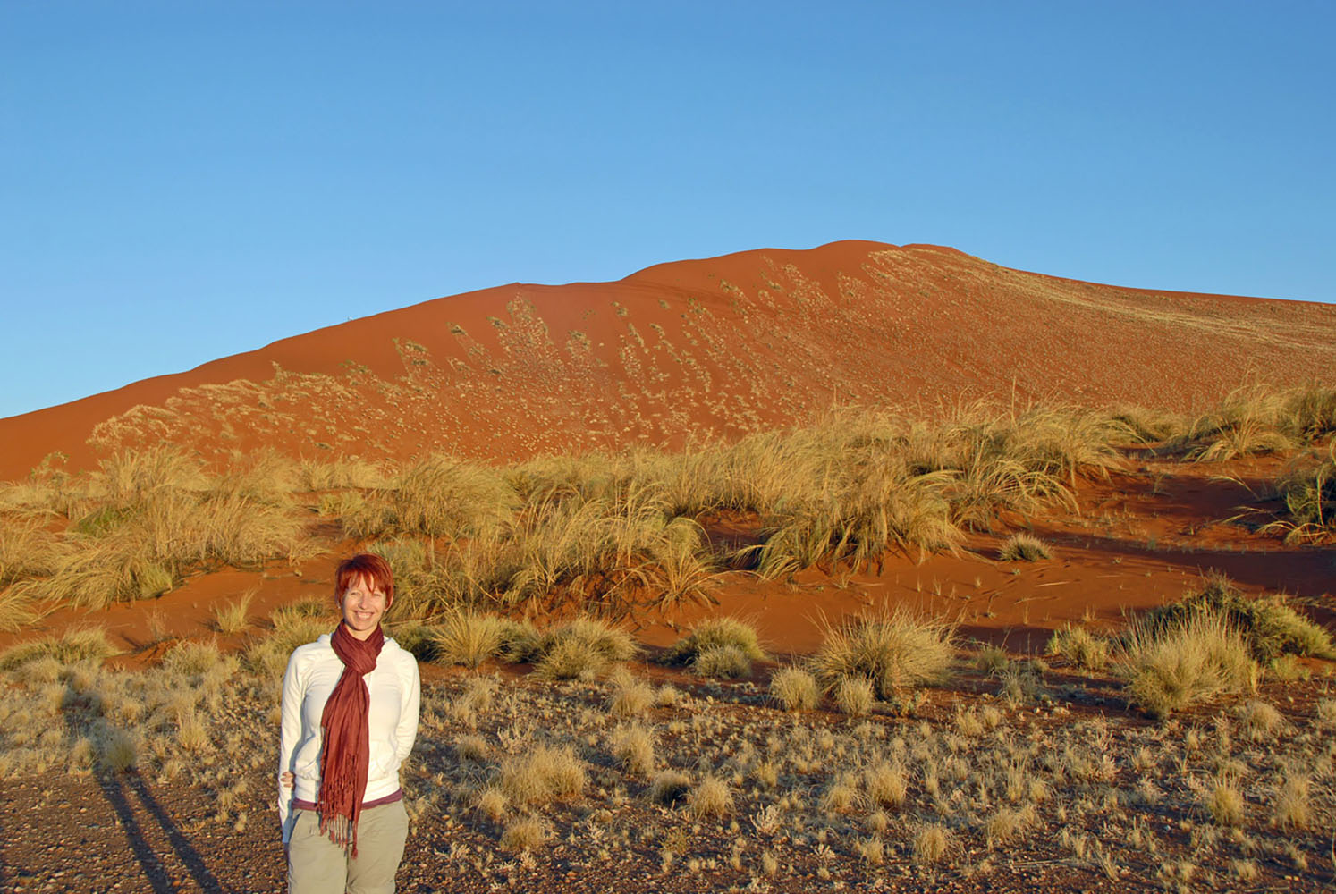 Liesel from Azamara Club Cruises in Namibia.