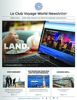 March 2015 newsletter cover