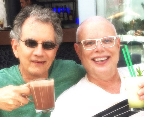 Mark and his husband Dale during an Azamara cruise.