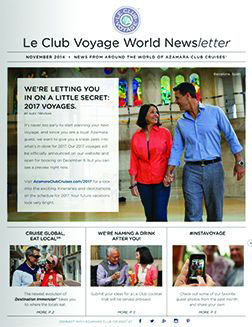 November 2014 newsletter cover