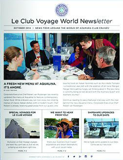 October 2014 newsletter cover