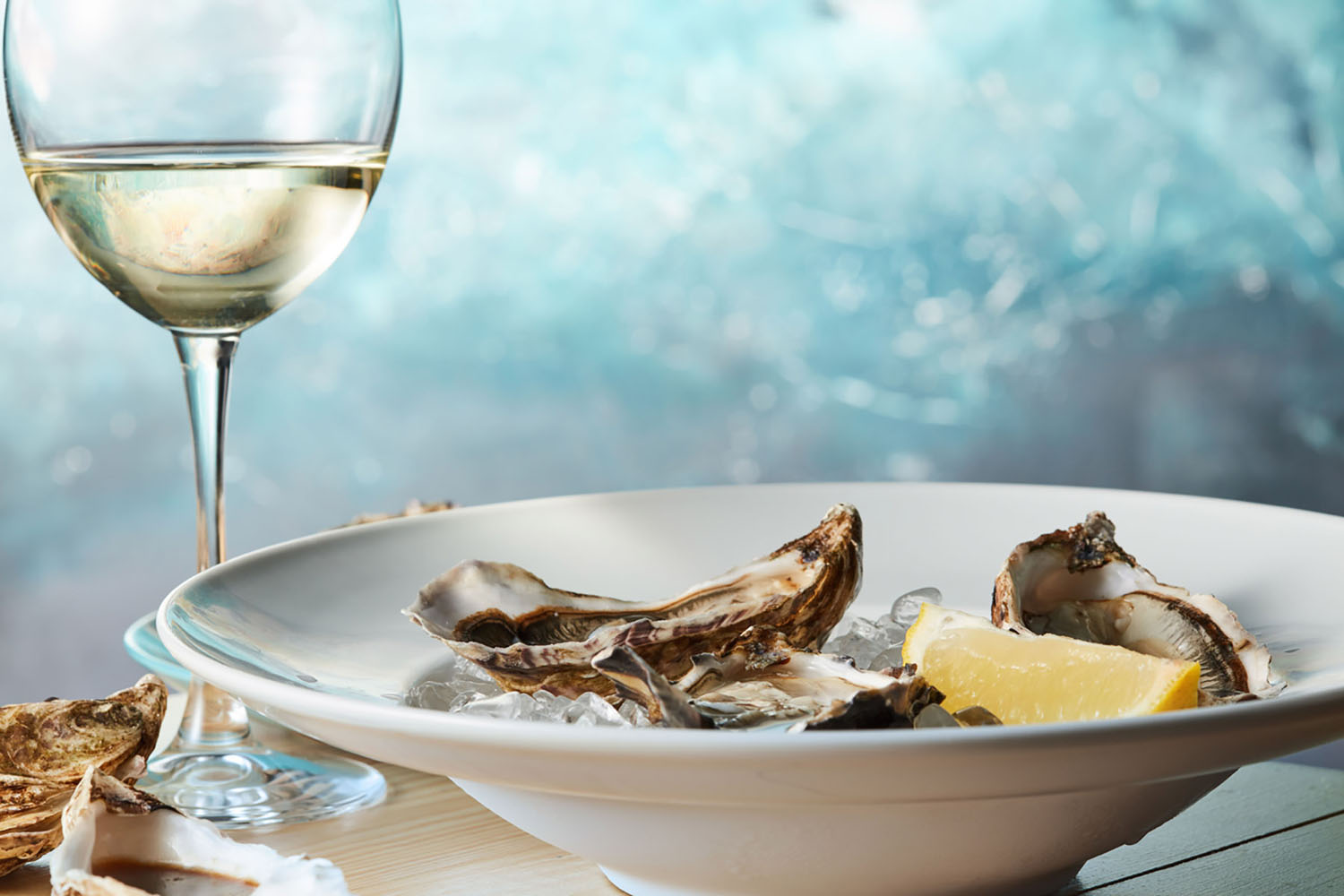 Brittany, France is an oyster mecca, producing over 60,000 pounds of the delicacy every year.