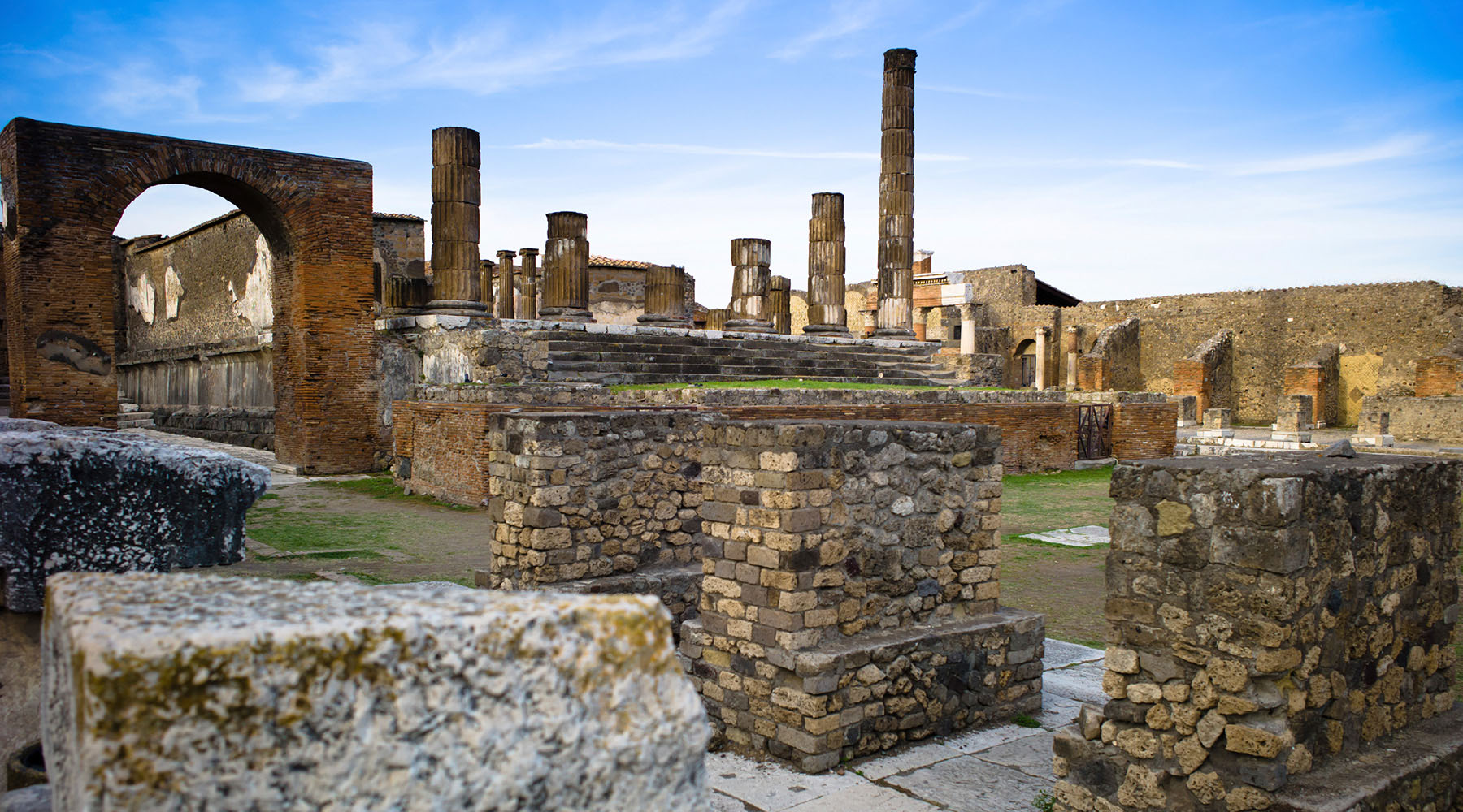 While exploring the Greek Isles and Italy, enter one of the most remarkable archaeological sites ever unearthed—the lost city of Pompeii.