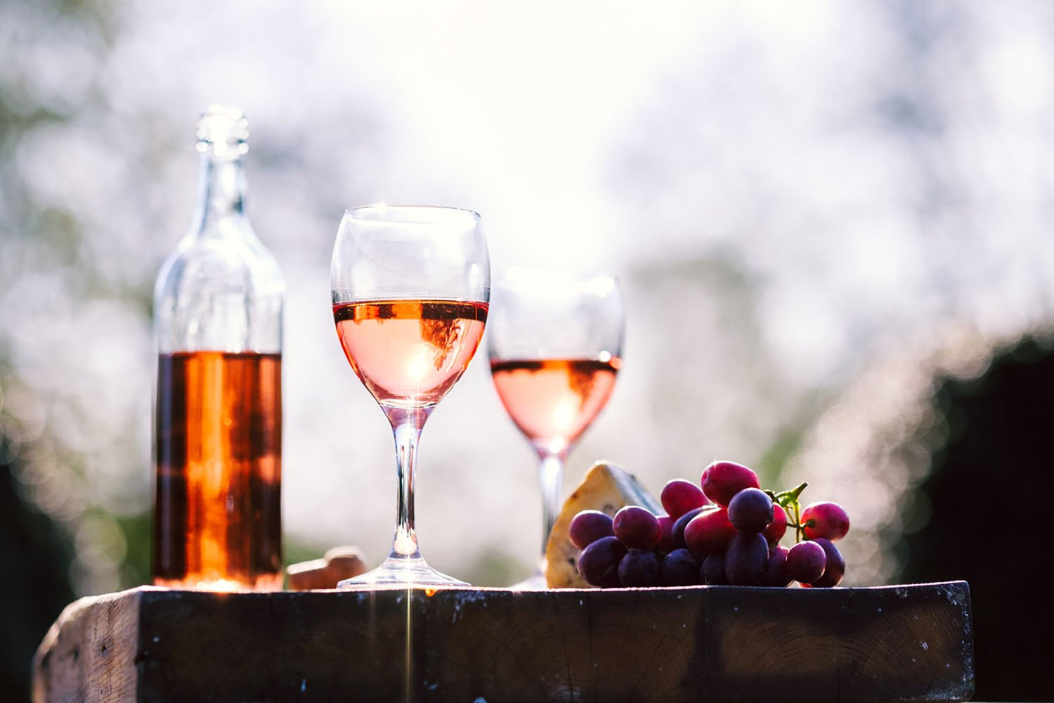 In Provence, rosé makes up two-thirds of all wine production, making it a must-try!
