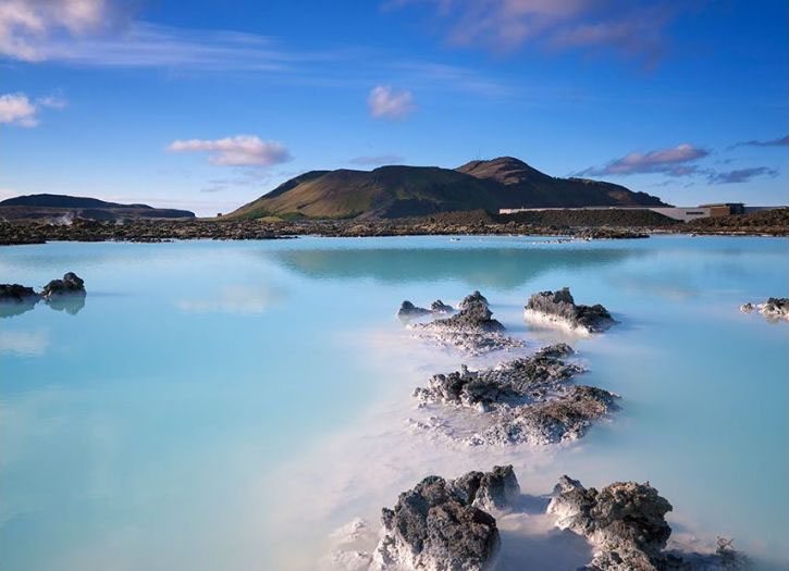 Indulge in the Blue Lagoon