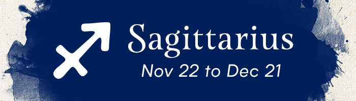 Sagittarius, November 22 to December 21