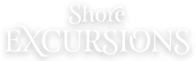 Shore Excursions title overlay