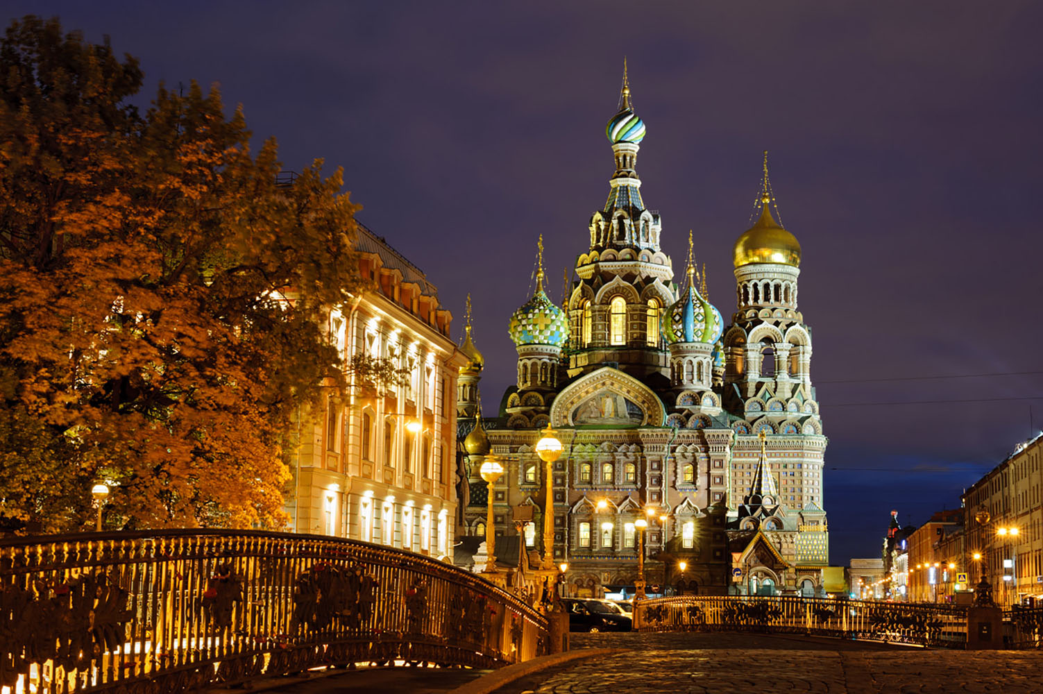 Extend your world journey to the beautiful St. Petersburg, Russia.