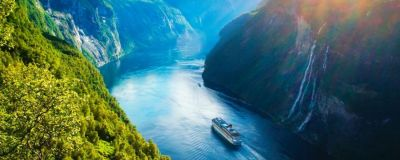 Cruising through the Norwegian Fjords