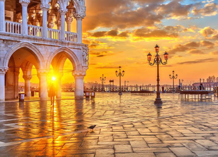 Doge's Palace, St. Mark's Cathedral and Glasswork