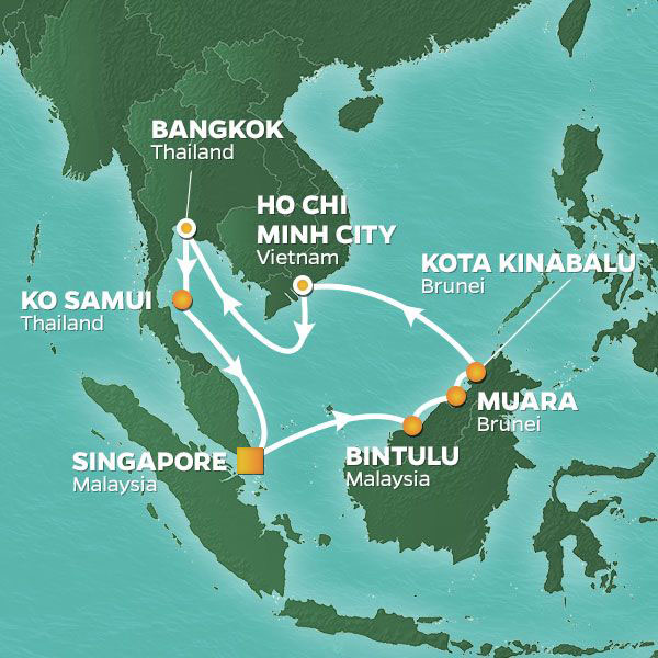 14 NIGHT BORNEO, VIETNAM & THAILAND