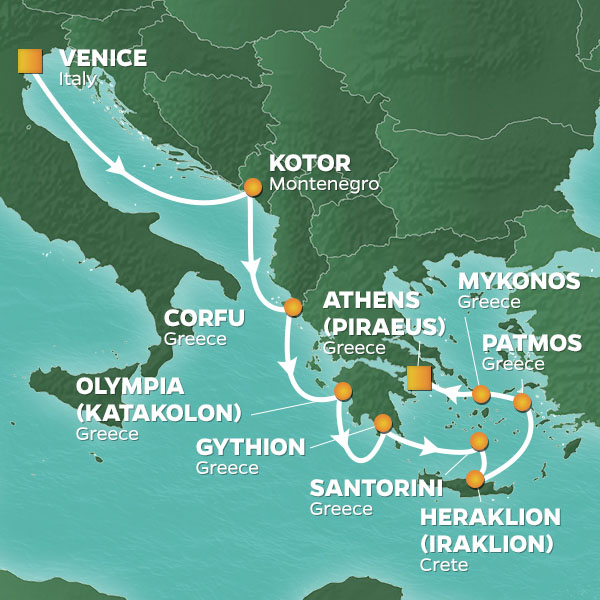 10 Night Greek Isles Intensive Voyage Azamara Club Cruises