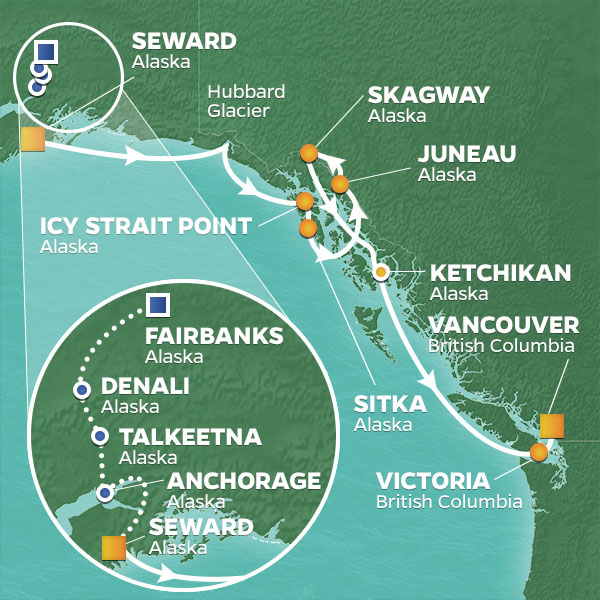 Pre-Voyage Land and Sea Packages