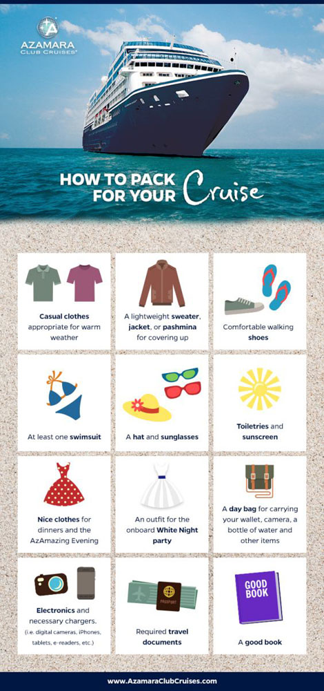 How To Pack For Your Cruise