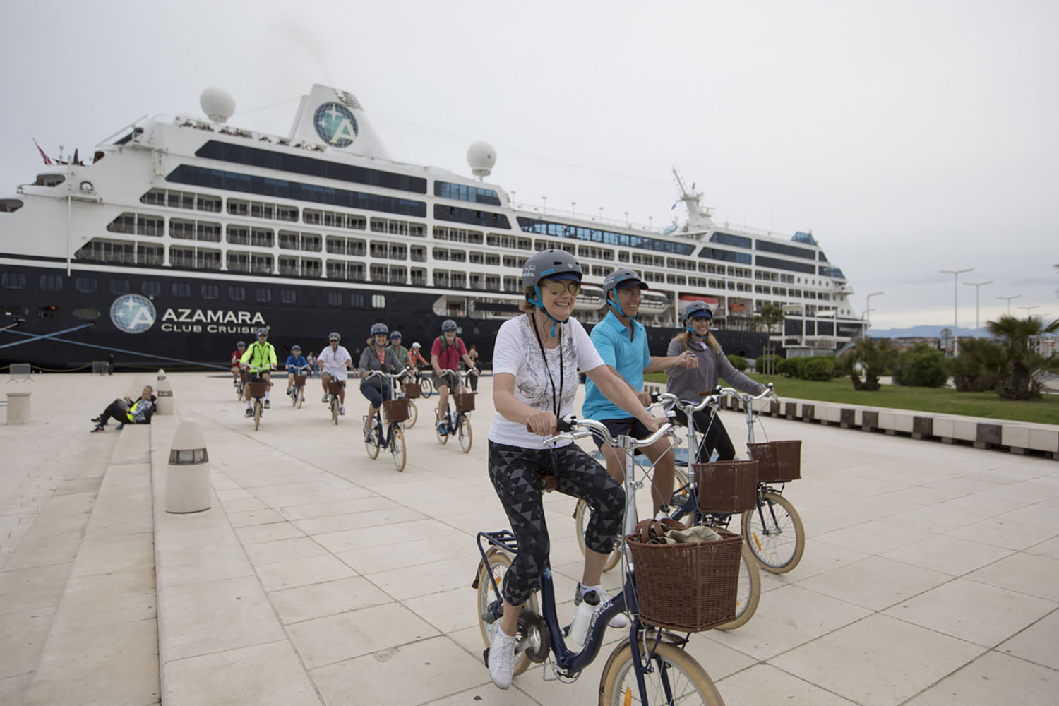 Bike local with Azamara.