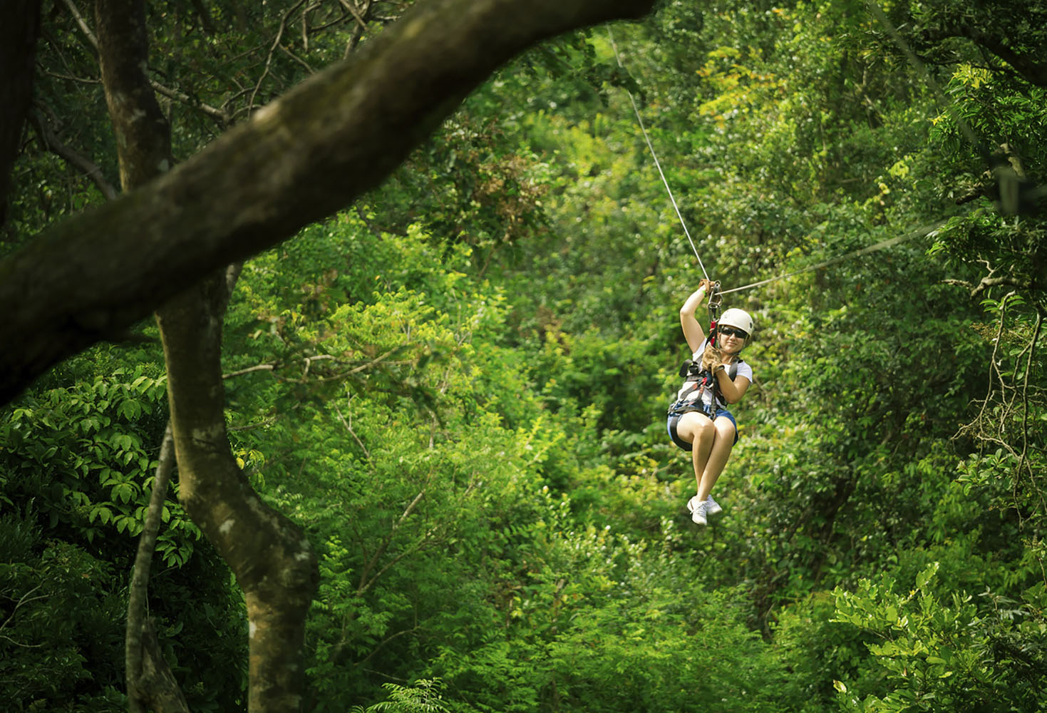 There are many ways to explore the rainforests of Central America, but nothing is as unforgettable an experience as soaring on a zip-line.